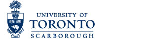This image provides a link to the University of Toronto Scarborough home page